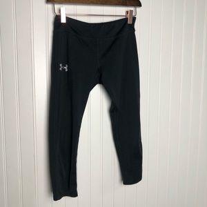 Under armour youth black athletic leggings